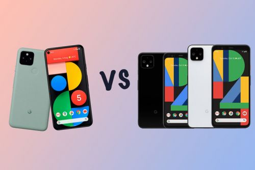 Google Pixel 5 vs Pixel 4 vs 4 XL: What's the difference?