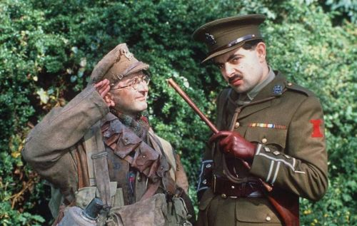 Richard Curtis has plans for a 'gorgeous' Blackadder reunion: 'I'm always hoping Rowan and I will do one last live show'