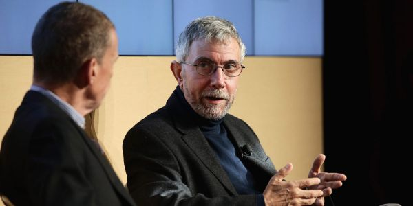Nobel prize-winning economist Paul Krugman explains why he's more left-wing than the Modern Monetary Theory crowd