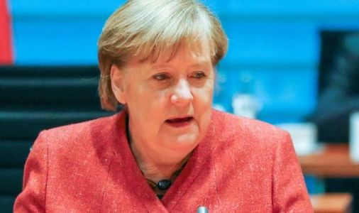 'Fear is back' Angela Merkel issued stark warning as Germany economy takes another hit