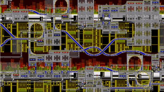 PC fan port of early Sonic games lets you zoom the camera way, way back