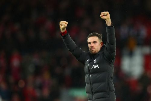 Liverpool's Jordan Henderson out for three weeks after hamstring injury