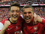 Lukas Podolski delighted to see Mesut Ozil leave Arsenal to join Fenerbahce
