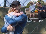 Andy Murray gives fans a rare glimpse of family life with his two daughters