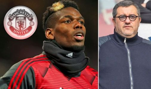 Man Utd think Mino Raiola is only person who wants Paul Pogba transfer