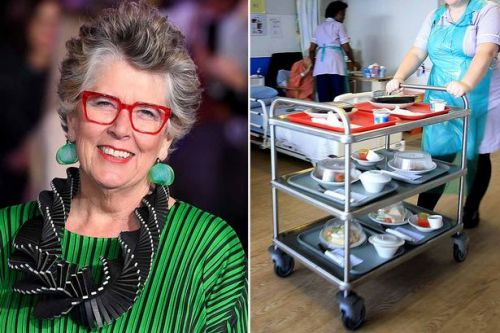 Bake Off's Prue Leith to advise Government on hospital food following listeria deaths