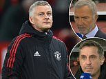 Gary Neville and Graeme Souness clash on whether Ole Gunnar Solskjaer should change coaching staff