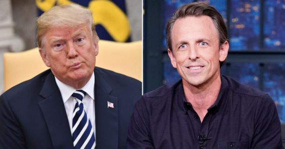 Seth Meyers says Trump will be remembered as 'sadistic con artist who left nation in ruins'
