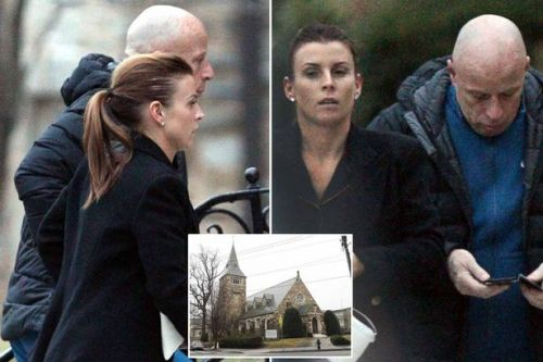 Coleen Rooney heads to church after reports hubby Wayne Rooney enjoyed drinking session with barmaid