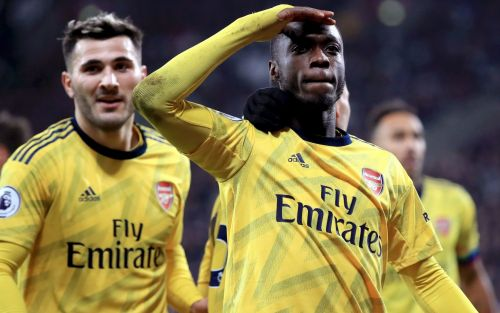 'You could see how much quality he has': Arsenal hoping Nicolas Pepe has turned a corner after early-season woes