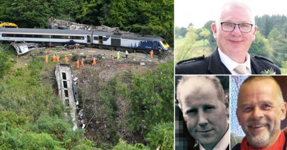 Investigation into ScotRail tragedy confirms train crashed after hitting landslip