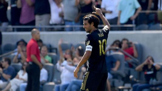 LAFC's Carlos Vela scores hat trick to smash MLS goals record