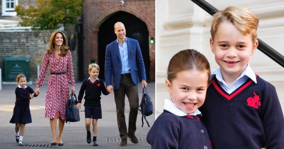 Prince George and Princess Charlotte's school hit by coronavirus fears as four pupils are isolated
