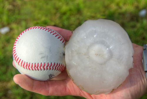 Hurricanes and tornadoes often cause hail, and depending on where you live you may need extra insurance to cover the damage