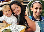 Jenelle Evans and David Eason proud parents as they start their kids Kaiser and Maryssa at school
