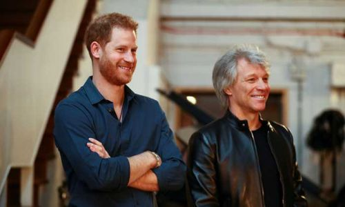 Jon Bon Jovi sympathises with Prince Harry's decision for more privacy as they team up for Invictus