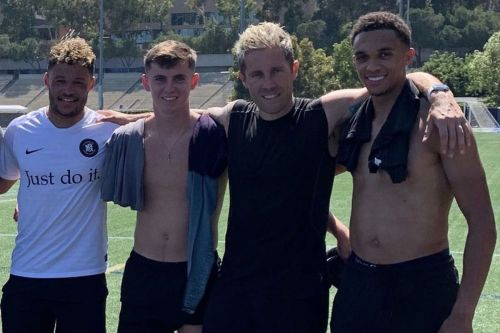 Ox, Trent & Woodburn train in LA - with the coach who helped fuel Divock Origi's Liverpool revival
