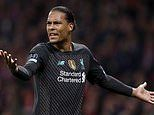 Virgil van Dijk says Liverpool have 'no reason for panic' after loss to Atletico Madrid