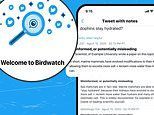 Twitter launches fact-checking program called Birdwatch where ANY member can flag a tweet