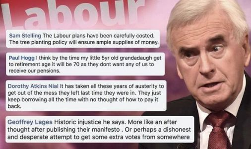 Britons furious at McDonnell's WASPI spending 'Don't believe a word he says!'