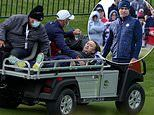 Tom Felton was saved by Kelly Slater following his collapse at the Ryder Cup celebrity tournament