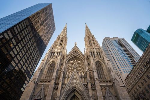 New York cathedral: Man arrested after taking petrol cans and lighters into building