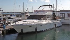 President 485 yacht tour: This 90s classic offers whole lot of boat for your money