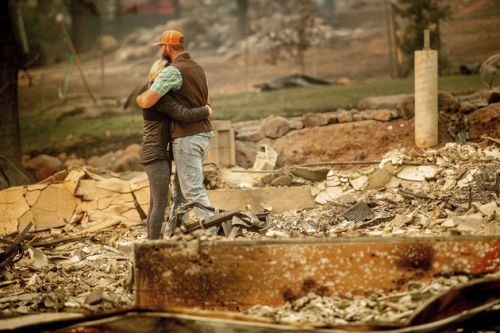 California Wildfires Death Toll Rises To 44