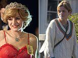 The Crown's Emma Corrin channels Princess Diana as she unveils her new cropped haircut