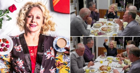 Five Guys A Week viewers emotional as 68-year-old Susan finds love after death of husband