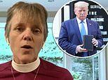 Bishop of St John's church slams Trump over staged photo op