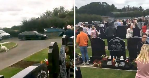 Several injured after driver 'deliberately' rams into crowds at graveyard ceremony