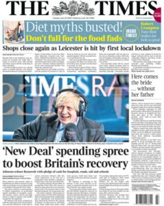 Newslinks for Tuesday 30th June 2020