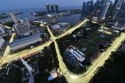 Where can I watch the Formula 1 2019 Singapore Grand Prix live on TV?