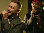 Justin Timberlake performs Better Days with Ant Clemons from Memphis for Biden's Inauguration