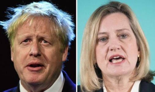 Amber Rudd says she will BACK Boris Johnson for Tory leadership as she RULES herself out