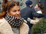 Helena Christensen, 52, spotted with mystery man on romantic outdoor brunch date in New York City