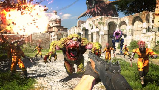 Serious Sam 4 review - seriously old school