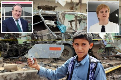 Cash for bombs scandal as Saudi air strike that killed 40 kids linked to Scots firm given £180k of taxpayers' money