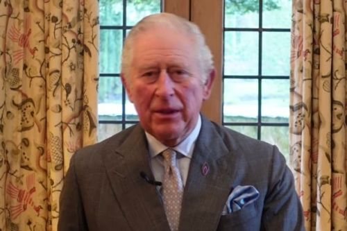 Prince Charles condemns Holocaust deniers in moving Memorial Day speech