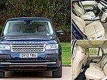 Prince William and Kate Middleton's 2013 Range Rover to sell at auction for as little as £30k