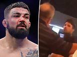 Horrifying moment UFC fighter Mike Perry is caught on video punching elderly man