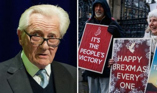 Remainer rebel Lord Heseltine rubbishes Brexit celebrations: 'Rub our nose in it!'