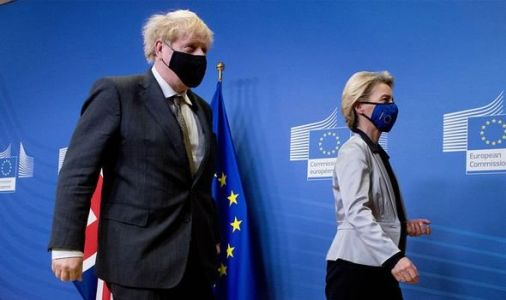 Von der Leyen's Brexit dinner almost ended trade talks - 'EU sat in silence, arms folded'