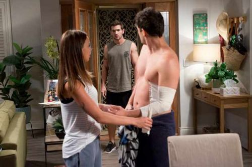 What time is Neighbours on TV? What's happening tonight? Who's in the cast?