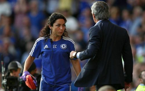 """""""Sad day"""" - Notoriously beautiful ex-Chelsea physio tweets in wake of Frank Lampard sacking"""