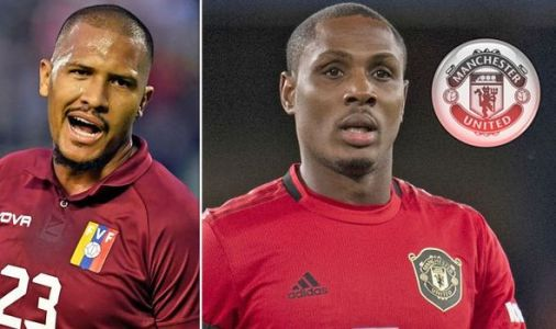 Man Utd star Odion Ighalo sent message by Salomon Rondon - who confirms transfer interest