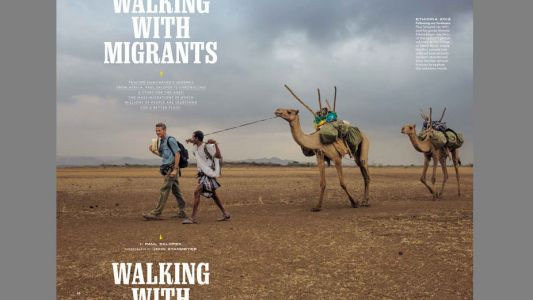 National Geographic drops its borders to highlight migration crisis