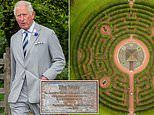 Stunning drone images show Prince Charles' Dumfries House maze from above - but can YOU work it out?