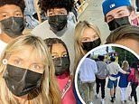 Heidi Klum is ever the doting mother as she shares two heartwarming group photos to Instagram
